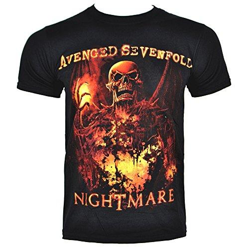 T Shirt Avenged Sevenfold Inner Rage (Nero) - Large