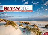 Nordsee ReiseLust 2020, Wandkalender im Querformat (45x33 cm) - Natur- und Reisekalender Deutsche Küste und Meer mit Monatskalendarium