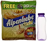 #2: Alpenliebe Gold Candy, 340g (100 Pieces) with Free 3D Tattoo and Water Bottle