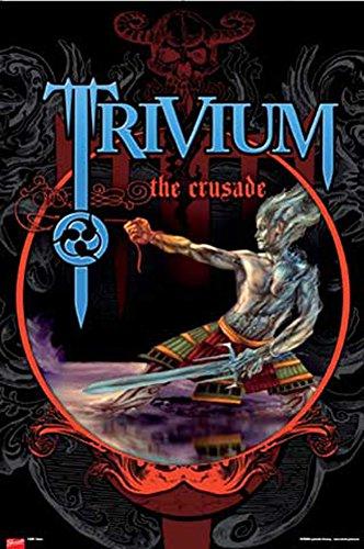 Trivium-Poster-The Crusade + UE di poster