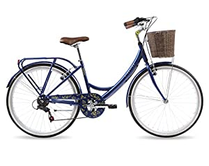 Kingston Women's Dalston Hybrid Bike - Metallic Blue, 16-Inch from Kingston