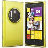 Silikonhülle Schutzhülle für Nokia Lumia 1020 Weiß-transparent