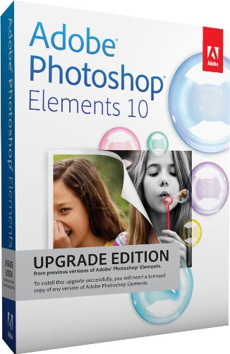 Adobe Photoshop Elements 10 – Upgrade
