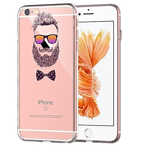 Coque iPhone 6 Plus/6S Plus,Vanki® Modèle simple Housse TPU Souple Etui de Protection Silicone Case Soft Gel Cover Anti Rayure Anti Choc pour Iphone 6 Plus/6S Plus
