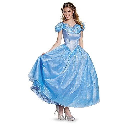 Disney Movie Cinderella Adult Prestige Costume Small 4-6