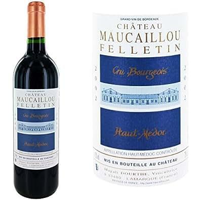 Château maucaillou felletin haut médoc cru bour...