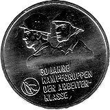 Münze 10 Mark Gedenkmünze 30 Jahre Kampfgruppen, DDR 1983 A (Jäger: 1593) Stempelglanz, Kupfernickelzink