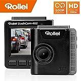 Rollei Dashcam 402 mit GPS und G-Sensor | Rechtskonforme Autokamera vorne | 1080p