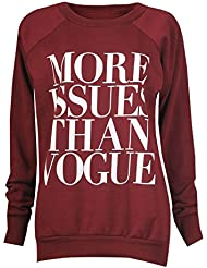 "Outofgas Clothing ""More Issues Than Vogue"" Sweat plus"