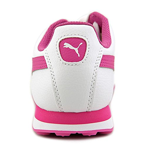 Puma Turin Hommes Synthétique Chaussure de Course White-Phlox Pink