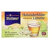 Meßmer Tee Holunderblüte-Limette 20 Beutel