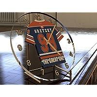 WAYNE GRETZKY THE GREAT ONE - EDMONTON OILERS NHL HOCKEY SOBRE HIELO - RELOJ DE MESA - EDICION LIMITADA LAS LEYENDAS DEL DEPORTE