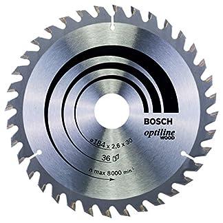 Bosch 2 608 640 62 – Hoja de sierra circular Optiline Wood