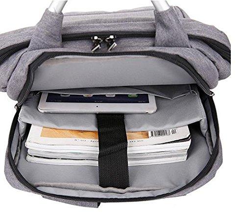 Z&HXComputer Rucksack Laptoptaschen Laptop-Tasche und weise beil?ufige wasserdichte Multifunktions Black