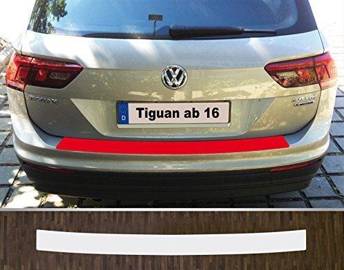 is-tuning passgenau für ***VW Tiguan 2*** ab 2016, Lackschutzfolie Ladekantenschutz transparent