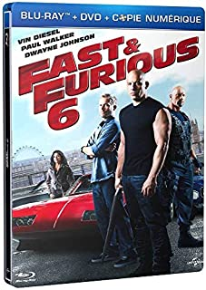 Fast & Furious 6 [Combo Blu-Ray + DVD + Copie Digitale-Édition boîtier SteelBook] (B00CXLKI4C) | Amazon price tracker / tracking, Amazon price history charts, Amazon price watches, Amazon price drop alerts