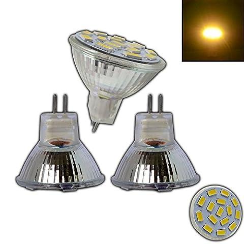 Ampoule Mr11 12 V - Lot de 3x ampoules spotsMR11/GU4LED 4W 12V