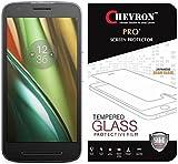Chevron 2.5D 0.3mm Pro+ Tempered Glass Screen Protector For Motorola Moto E3 Power, Motorola Moto E (3rd Generation)