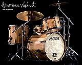 SONOR SQ2 Shell-Set 20-13-15-14 American Walnut