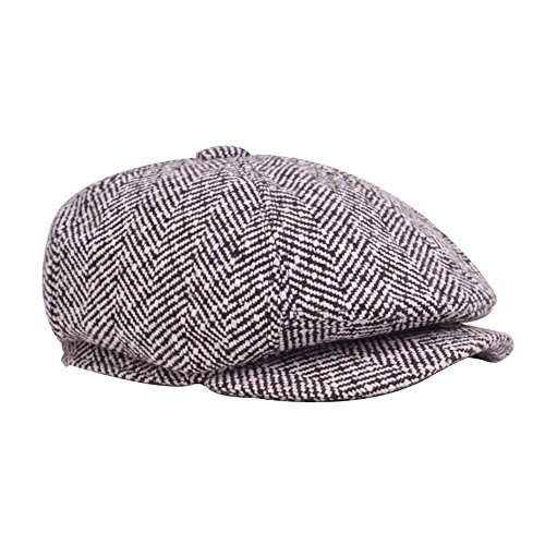Leisial Sombrero Boina Otoño Invierno Estilo Británico