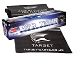 TARGET HEAVY DUTY PRO TOUR RUBBER DARTS MAT OCHE [Toy]