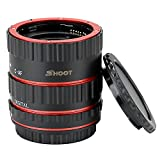 SHOOT AF Kit de tube de rallonge pour macro pour Canon EOS EF EF-S Objectif DSLR 1100D 700D 650D...