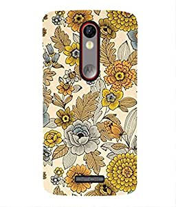 For Moto X Force -Livingfill- Retro 70's floral pattern Printed Designer Slim Light Weight Cover Case For Moto X Force (A Beautiful One of the Best Design with a Classic Theme & A Stylish, Trendy and Premium Appeal/Quality) (Red & Green & Black & Yellow & Other)
