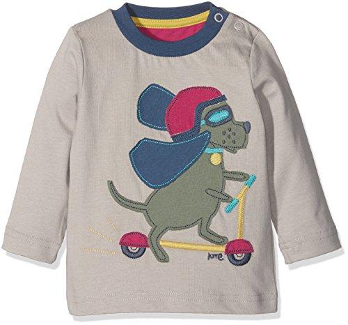 Kite Baby-Jungen Poloshirt Scooting Hound T-Shirt, Grau, 92
