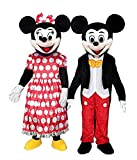 Happy Shop Mickey Mouse - Disfraz de Mascota para Adultos, Multicolor, Large