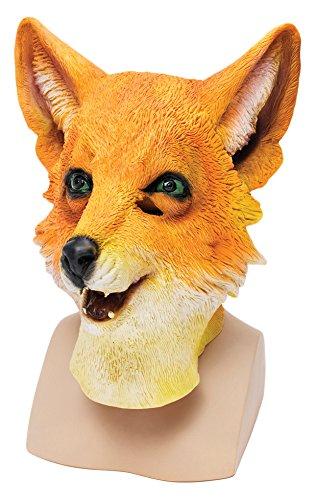 9Herr Fox Overhead Maske (One Size) (Fuchs-maske Kostüm)