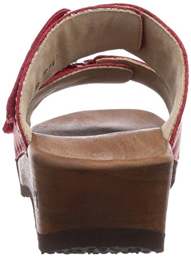 Woody Melina, Chaussures de Claquettes femme Rouge