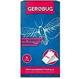 Gerobug 6 x Profi-Kleidermottenfalle + Bonus Ebook Zum Kleidermotten bekämpfen