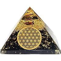 Orgone Pyramid tormalina nera fiore della vita 4964beaf7fc6