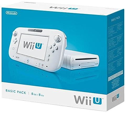 Nintendo Wii U - Konsole, Basic Pack, 8 GB,