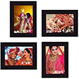 "Creative Arts N Frames Photo Frame Collage || Set Of 4 Ps || Photo Size : 4""x 6"" 