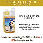 ACTIF PETS Flaxseed Oil for Dogs-Rich in Omega 3, 6 & 9 for Dry, Itchy Skin/Coat. A Natural Dog Supplement for Stiff… 13