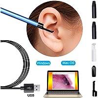 LLY HNO-Instrument Zur Visuellen Inspektion, USB-Ohrreinigungsendoskop Endoskop 6 Einstellbare LED-Anzeige Earwax... preisvergleich bei billige-tabletten.eu