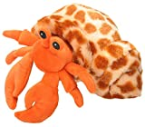 Wild Republic Hugems Soft Toy, Gifts for Kids, Hermit Crab Cuddly Toy 18cm