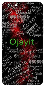 Ojayit (Courageous) Name & Sign Printed All over customize & Personalized!! Protective back cover for your Smart Phone : Samsung Galaxy E-7