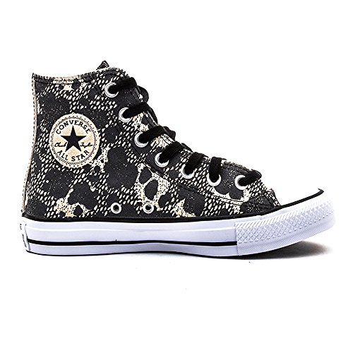 Converse Ctas Animal Hi, Sneakers Hautes femme Black