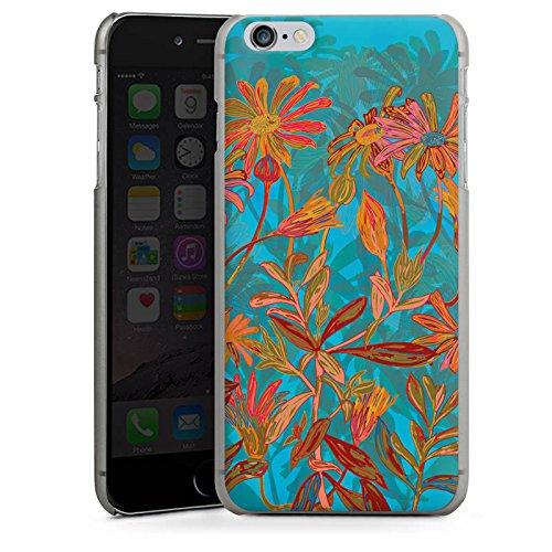 Apple iPhone 5s Housse Outdoor Étui militaire Coque Fleurs d'automne Fleurs Fleurs CasDur anthracite clair