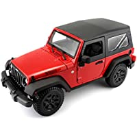 Maisto - Jeep Wrangler del año 2014 en escala 1/18 (31676)