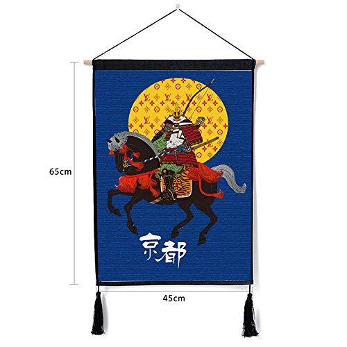 Japanische Ukiyo-e landschaftsdekoration gemälde Baumwolle leinen Kunst hängen malerei hängen Tuch j 46 * 65cm
