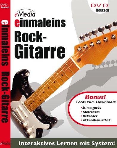 einmaleins Rock-Gitarren - Gitarrenschule in Deutsch [DVD-Video]