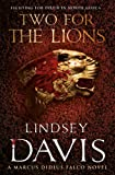 Two for the Lions by Lindsey Davis front cover