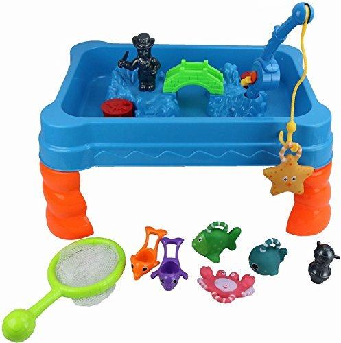 Quickdraw Haken ein Tablet Kinder Activity Wasser Spiel Angeln Spiel mit Zubehör (Fisch-spiel-tisch)