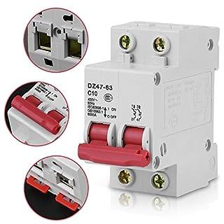 10A AC400V Leitungsschutzschalter DZ47-63 50Hz Schaltleistung 6000A