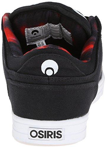Osiris Shoes Protocol Shoe - Noir/Noir/Noir - Taille 7 UK, 8 US, 40.5 EUR, 26 JPN Red/Tiger