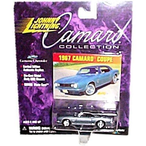 Johnny Lightning - Camaro Collection - Limited Edition - 1967 Camaro Coupe (Metalflake Dark Grey) by Johnny Lightning