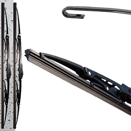 HCL® Classic – 2x Bügelscheibenwischer für VW T4 1990-2003 / Passat 35i B3 B4 / 3b B5 / 3bg Flach Wischer Satz Set Premium - 2